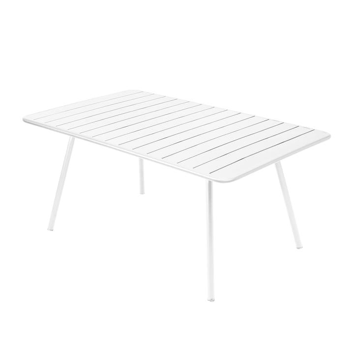 Luxembourg Tisch 165 x 100 cm von Fermob in Baumwollweiß
