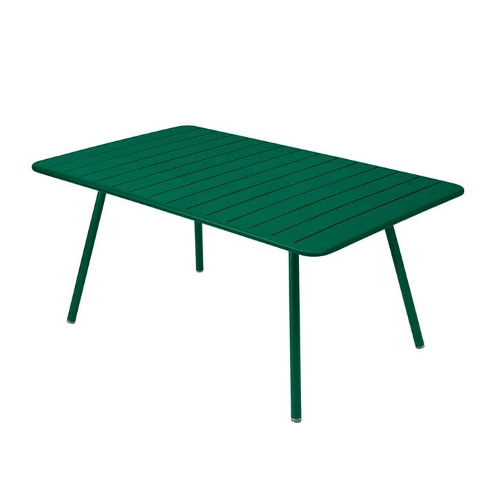 Luxembourg Tisch 165 x 100 cm von Fermob in Zederngrün