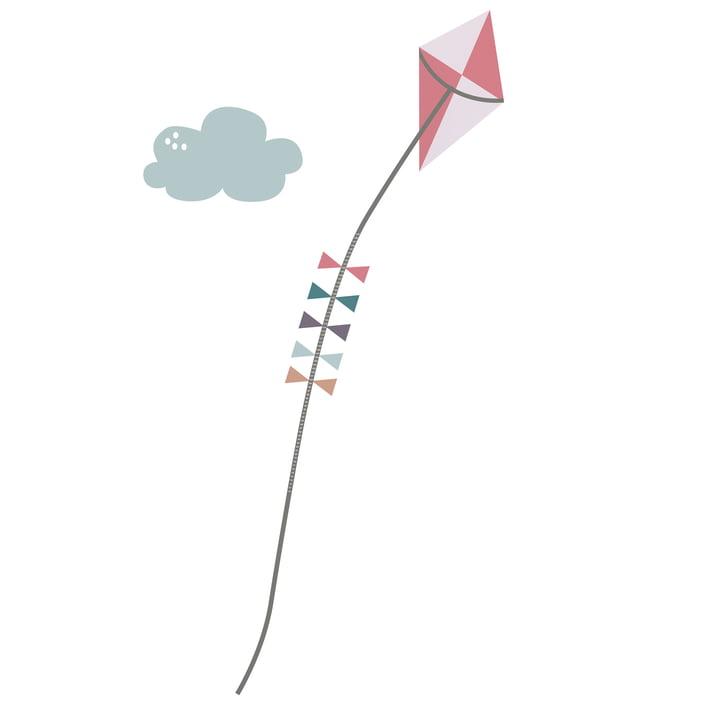 Farm Wandsticker / Messlatte 0 - 139 cm von Sebra für Mädchen