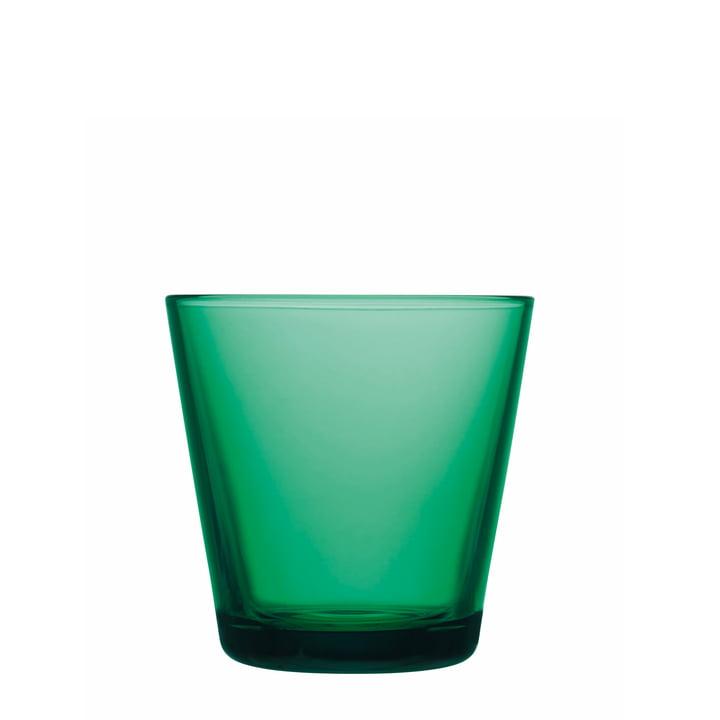 Kartio Trinkglas von Iittala in Smaragd