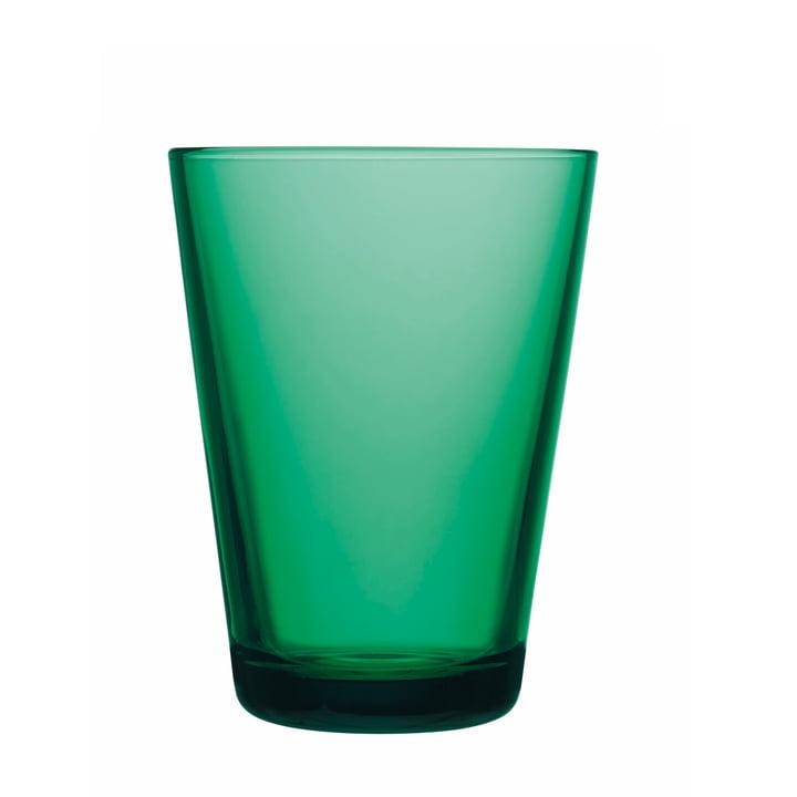 Iittala - Kartio Trinkglas 40 cl, smaragdgrün