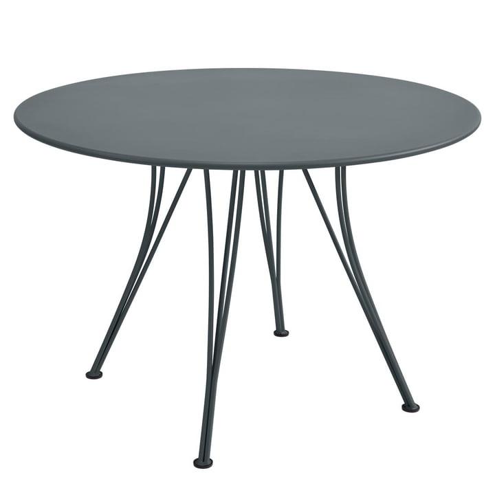 Rendez-Vous Tisch rund Ø 110 cm von Fermob in Gewittergrau