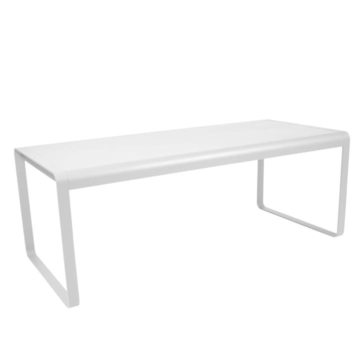 Bellevie Tisch von Fermob in Baumwollweiß