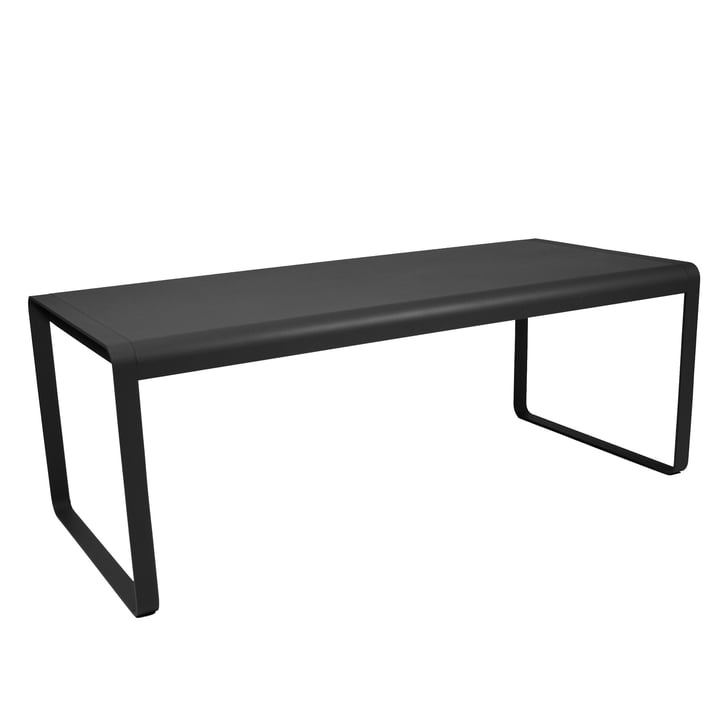 Bellevie Tisch von Fermob in Anthrazit