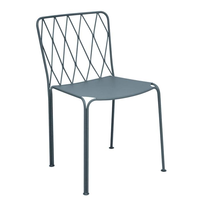 Kintbury Stuhl von Fermob in Gewittergrau