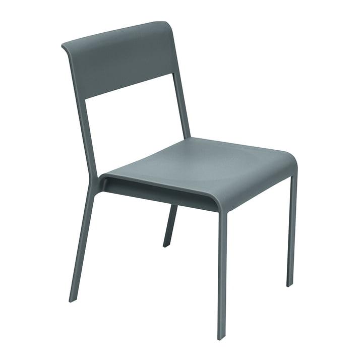 Bellevie Stuhl von Fermob in Gewittergrau