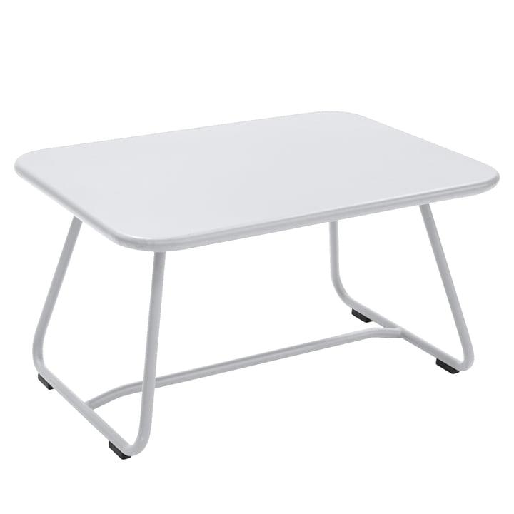 Sixties Tisch von Fermob in Baumwollweiß