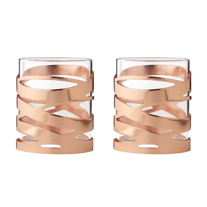 Tangle Teelichthalter (2er-Set) von Stelton