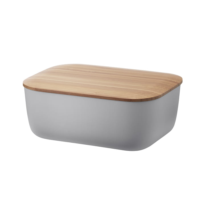 Box-It Butterdose von Rig-Tig by Stelton in Grau