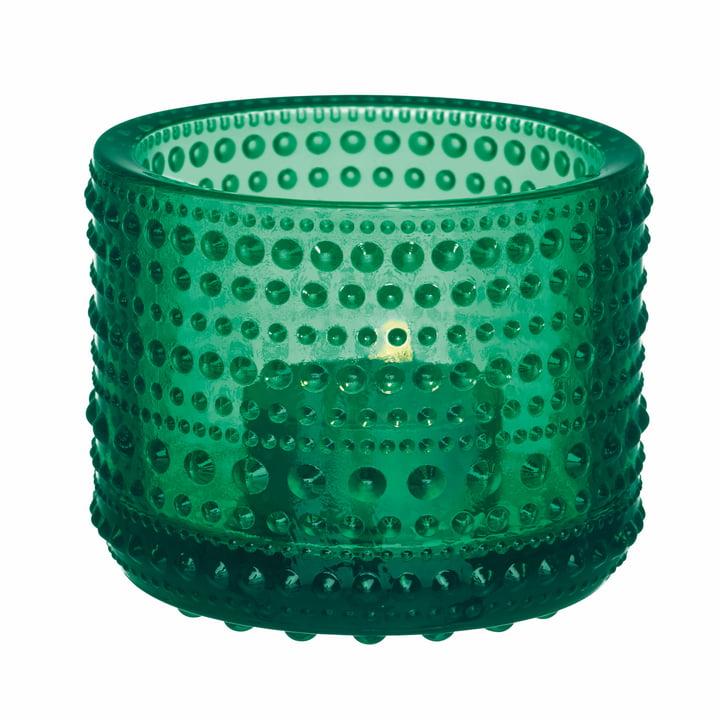 Kastehelmi Votive 64 mm von Iittala in Smaragdgrün