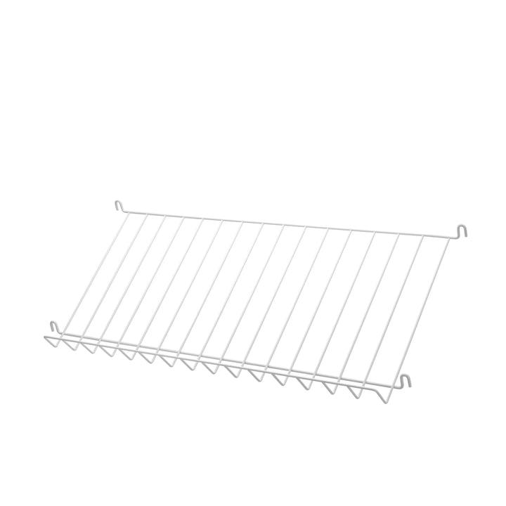 Zeitschriftenablage von String in Weiß