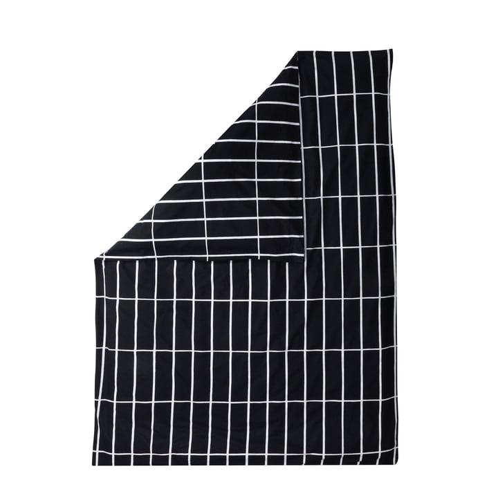 Tiiliskivi Deckenbezug von Marimekko in Schwarz / Weiß