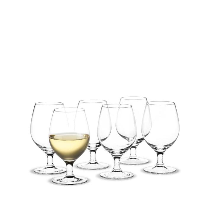 Royal Weißweinglas, 21 cl (6er-Set) von Holmegaard