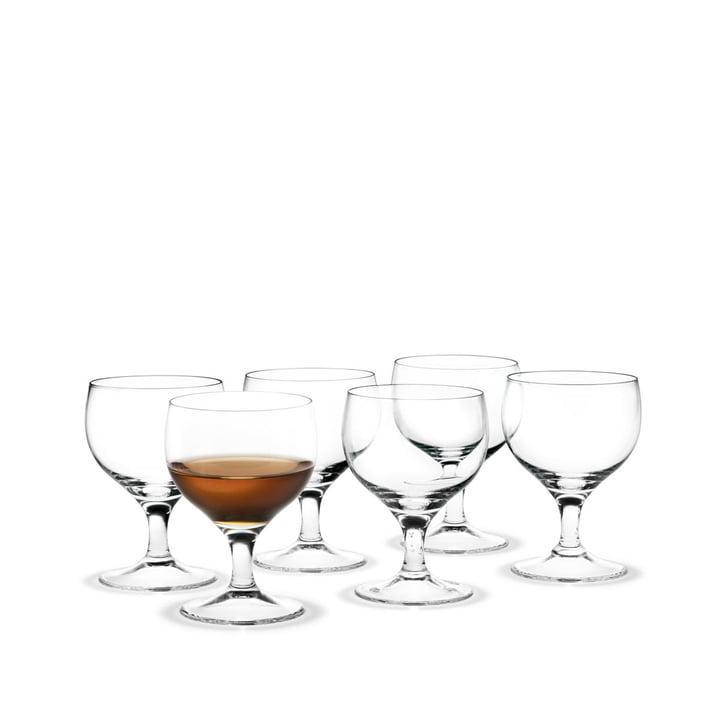 Royal Süßweinglas, 19.5 cl (6er-Set) von Holmegaard