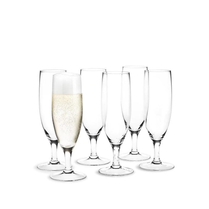 Royal Champagnerglas, 25 cl (6er-Set) von Holmegaard