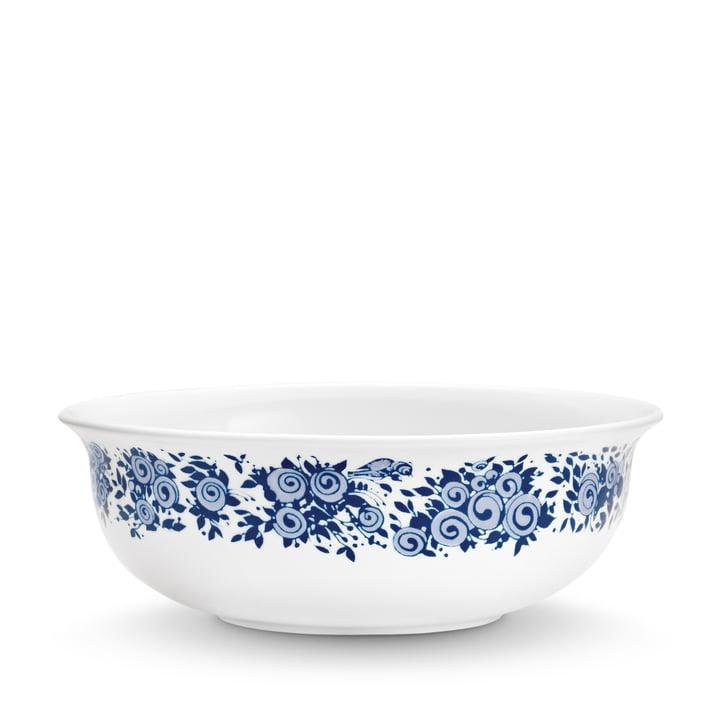 Bjørn Wiinblad - Schale Rosamunde, Ø 15,7 cm, blau