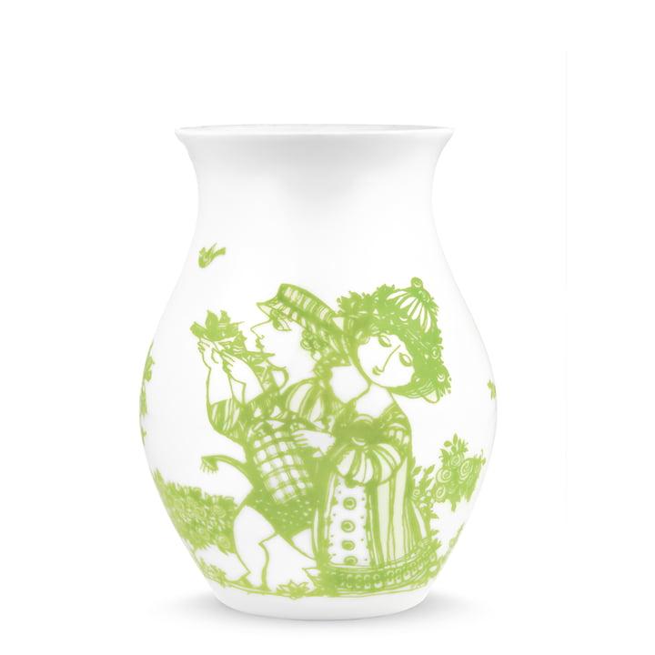 Bjørn Wiinblad - Vase Rosegarden, grün