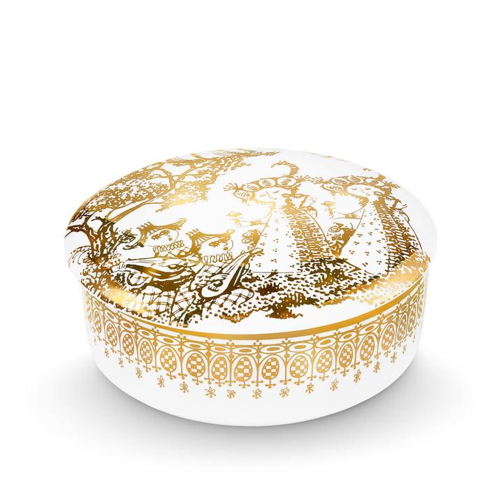 Bjørn Wiinblad - Bonbonniere Mascarade, gold