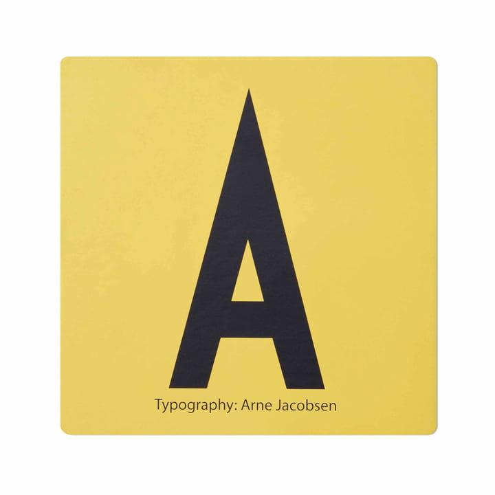 Design Letters - AJ Memory Spiel, Karte A