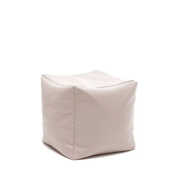 Sitting Bull - Checker XL Hocker - Outdoor, beige