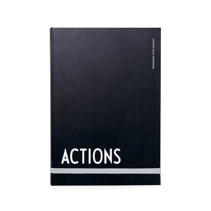 Design Letters - AJ Actions Notizbuch, A5