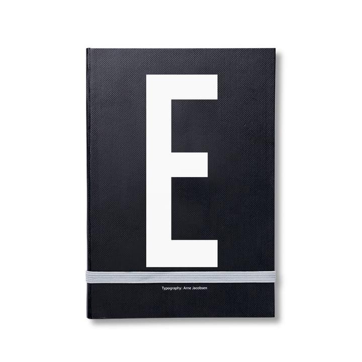 Design Letters - Personal Notizbuch von A-Z, E