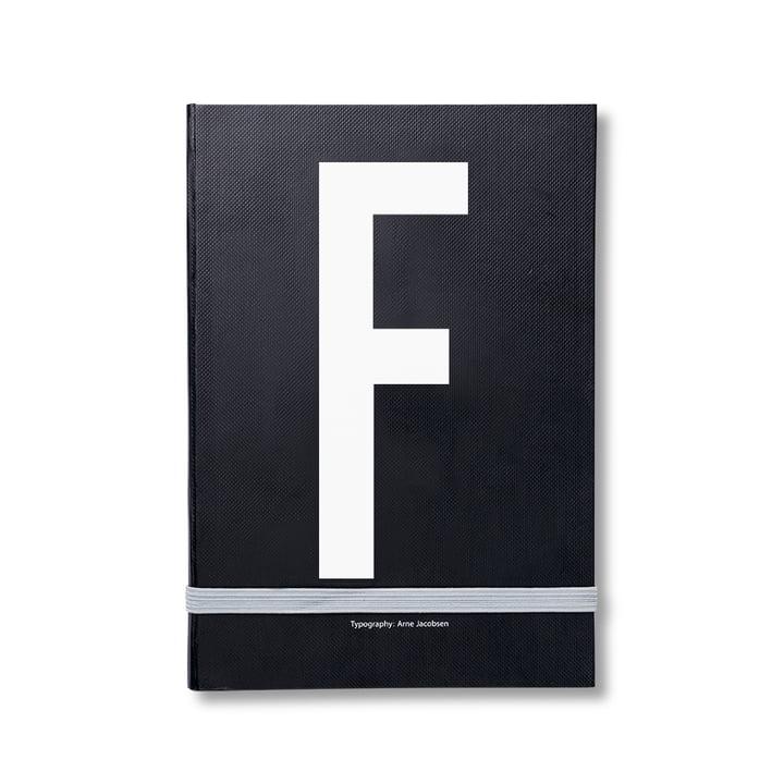 Design Letters - Personal Notizbuch von A-Z, F
