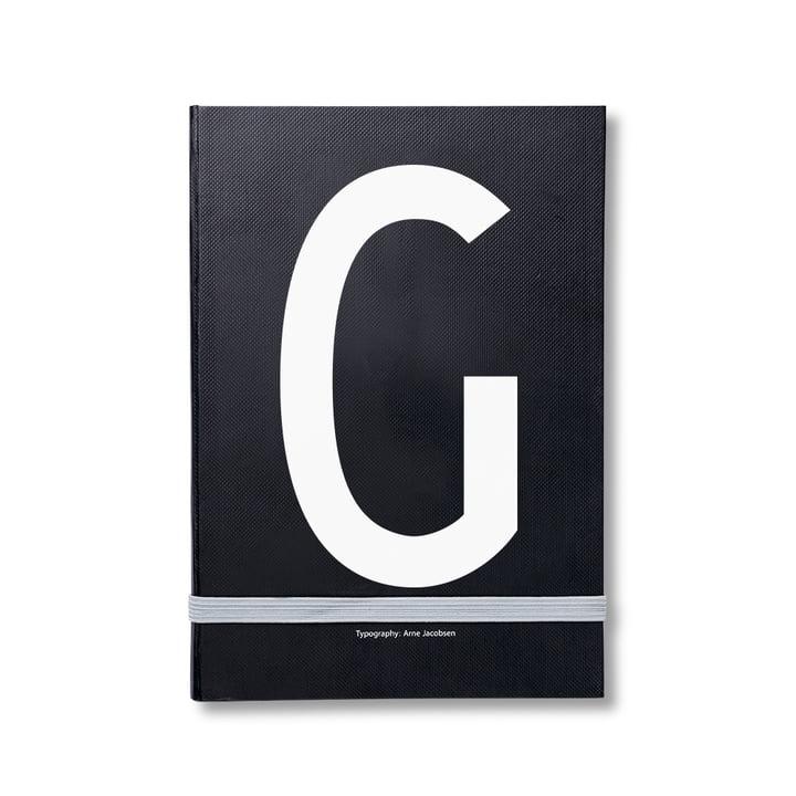 Design Letters - Personal Notizbuch von A-Z, G