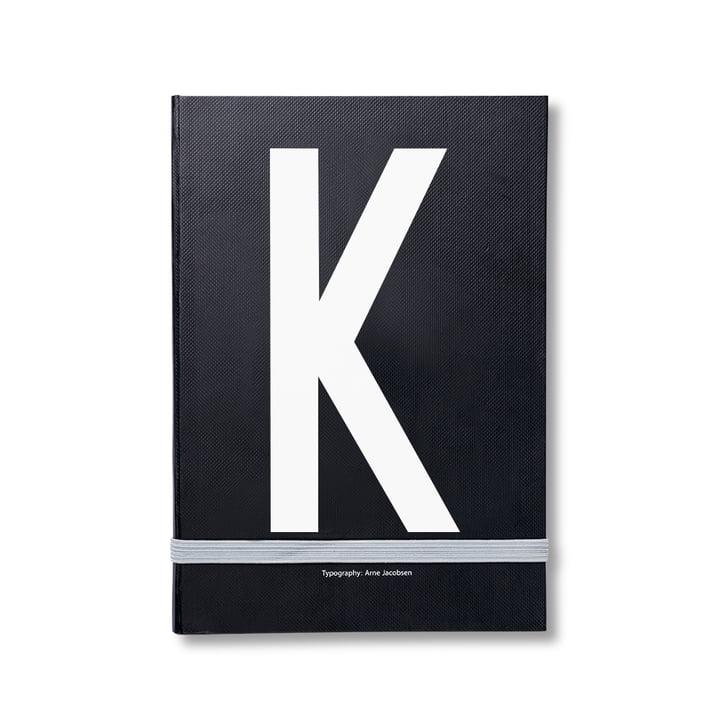 Design Letters - Personal Notizbuch von A-Z, K