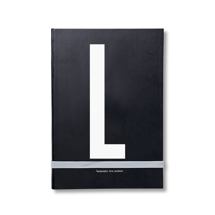 Design Letters - Personal Notizbuch von A-Z, L