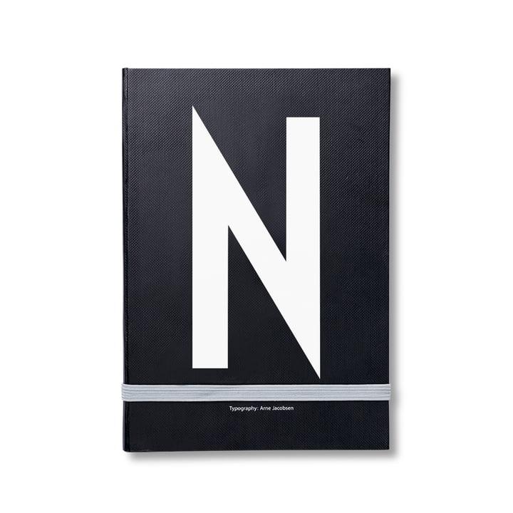 Design Letters - Personal Notizbuch von A-Z, N