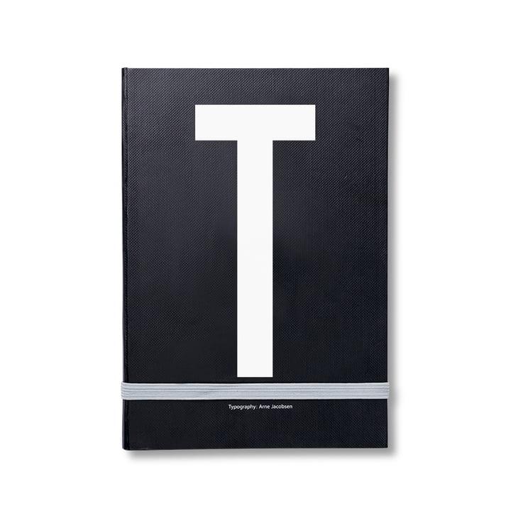 Design Letters - Personal Notizbuch von A-Z, T