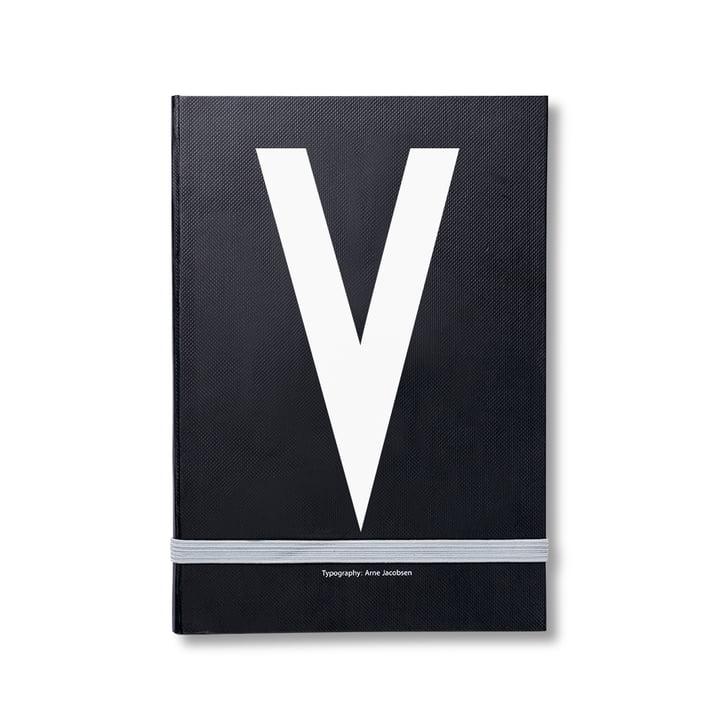 Design Letters - Personal Notizbuch von A-Z, V