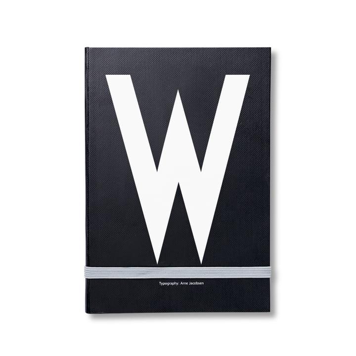 Design Letters - Personal Notizbuch von A-Z, W
