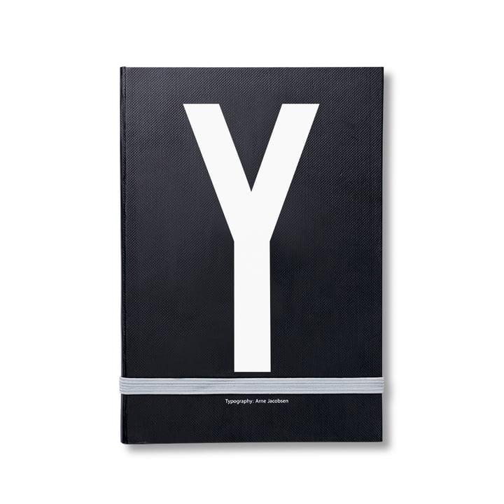 Design Letters - Personal Notizbuch von A-Z, Y