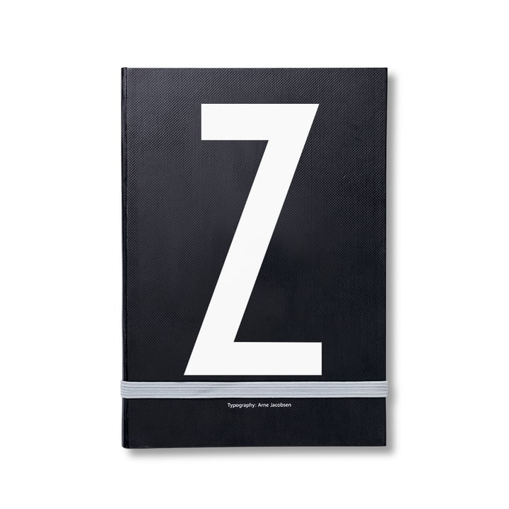 Design Letters - Personal Notizbuch von A-Z, Z