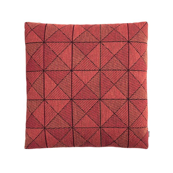 Geometrisches Tile Kissen von Muuto in Orangerot