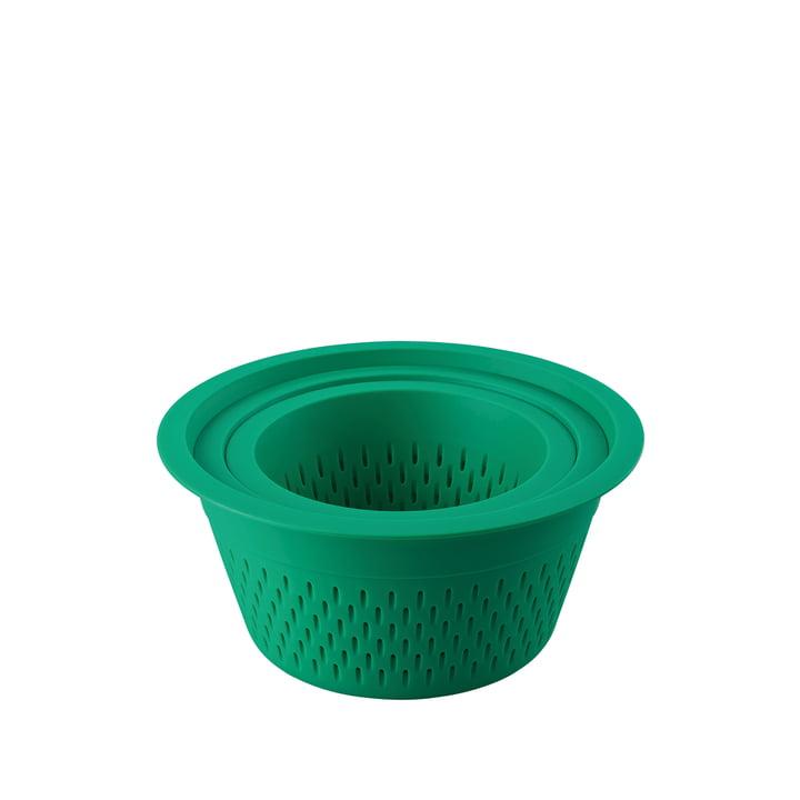Das Kunststoffsieb in grün von Thomas im 3er-Set