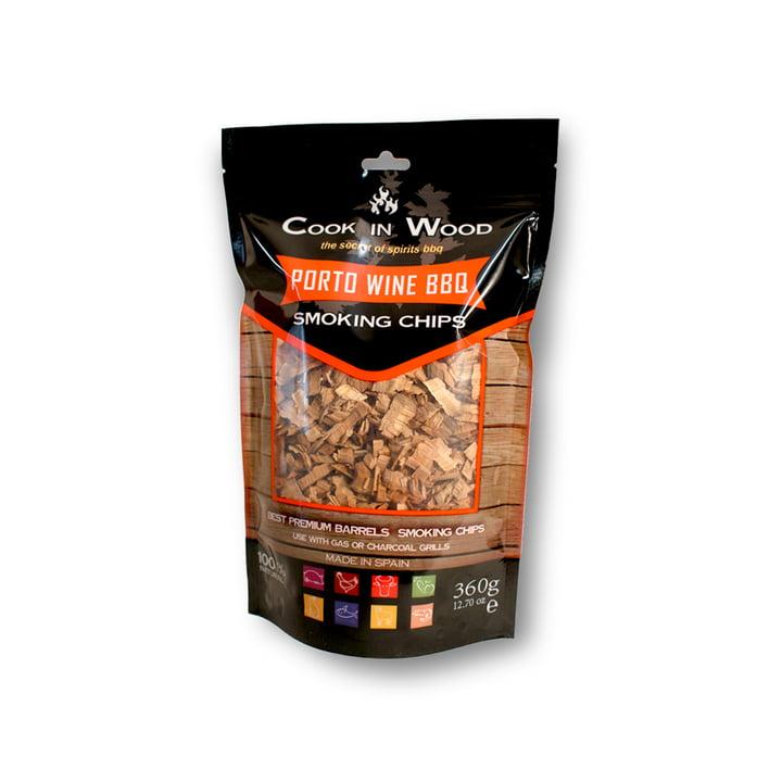 Portwein BBQ Räucherchips (360 g Packung) von Cook in Wood