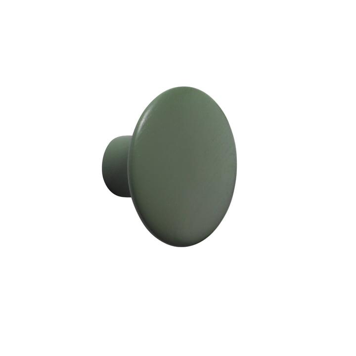 """Wandhaken """"The Dots"""" single small von Muuto in Dusty Green"""