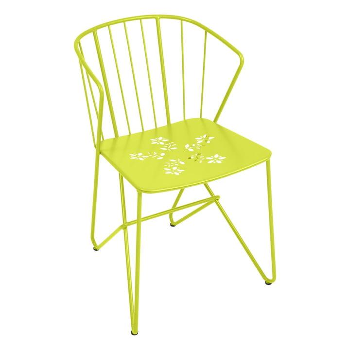 Flower Sessel mit Muster von Fermob in Eisenkraut