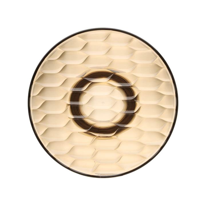 Jellies Coat Hanger Garderobenhaken Ø 19 cm von Kartell in Bernstein