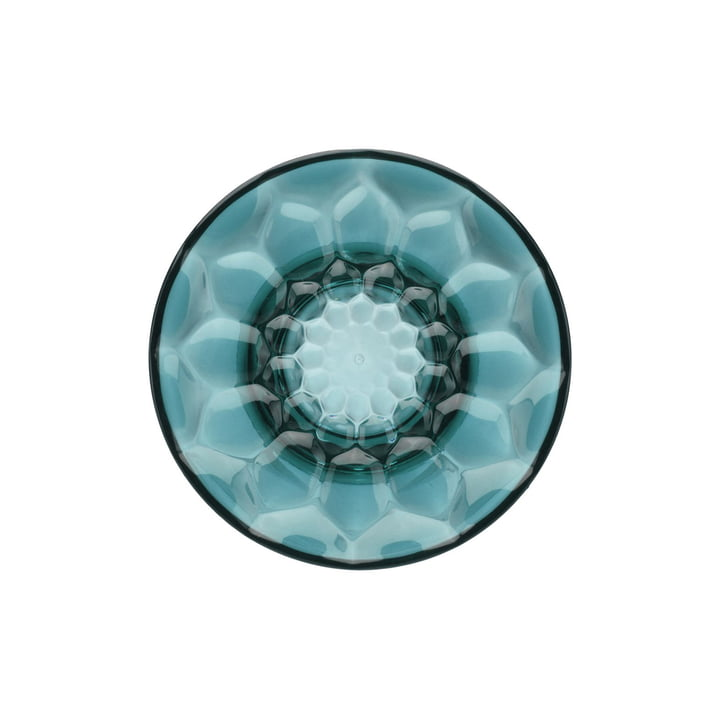 Jellies Coat Hanger Garderobenhaken Ø 13 cm von Kartell in Blau