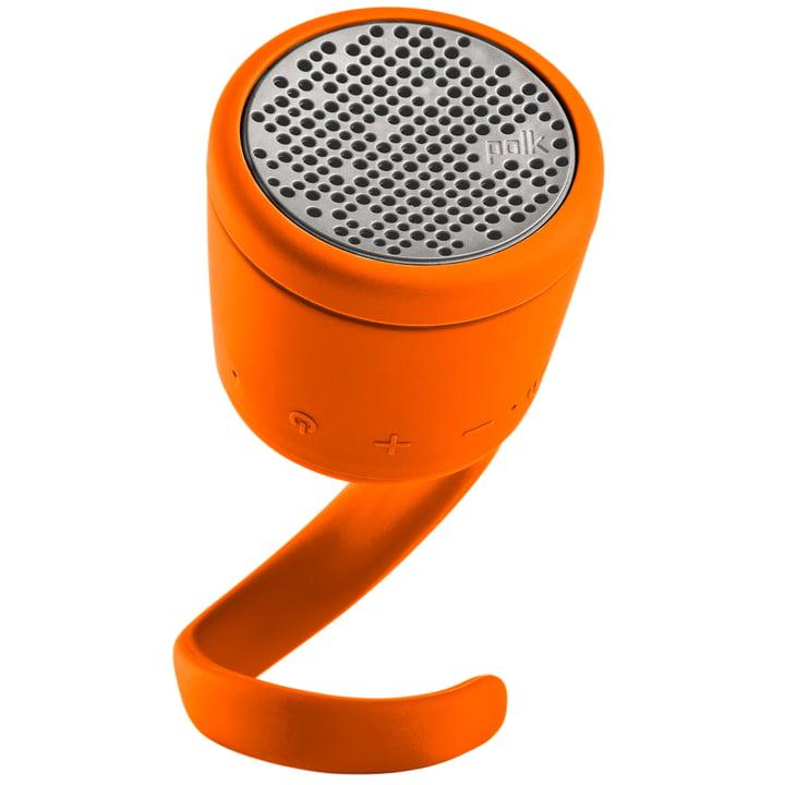 Swimmer Duo Bluetooth-Lautsprecher von Polk in Orange