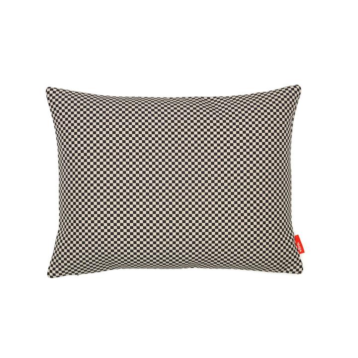 Kissen Minicheck, 30 x 40 cm von Vitra in Schwarz/Weiß