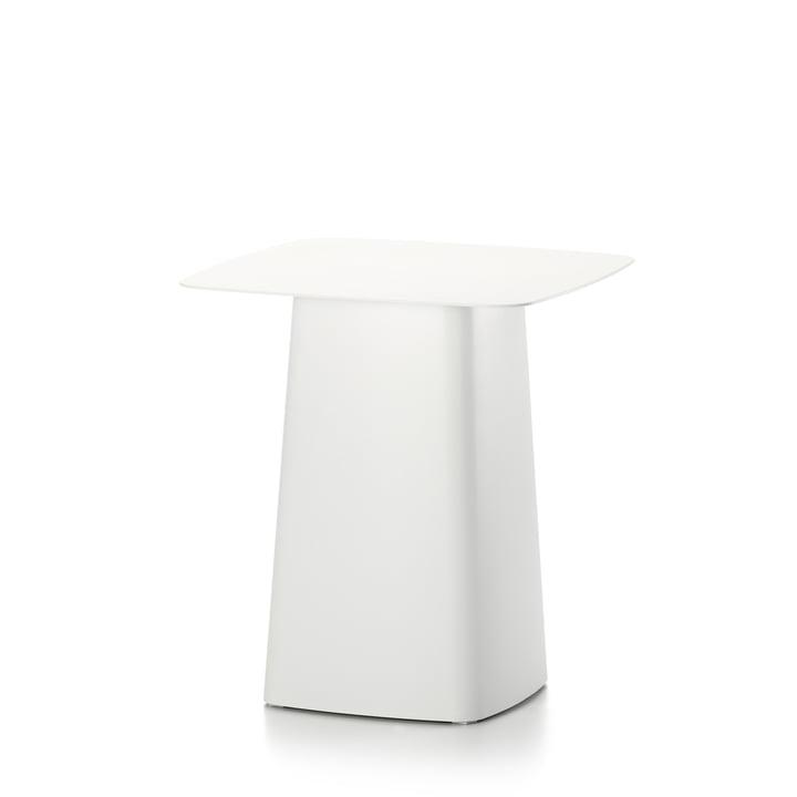 Vitra - Metal Side Table Outdoor, klein, elfenbein
