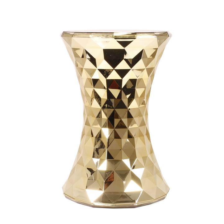 Kartell - Stone Hocker, gold