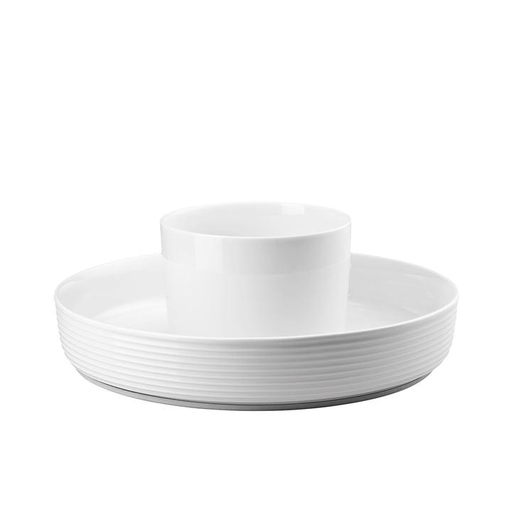 Der Ono Food Presenter von Thomas in weiß mit einem Durchmesser von 33,5 cm