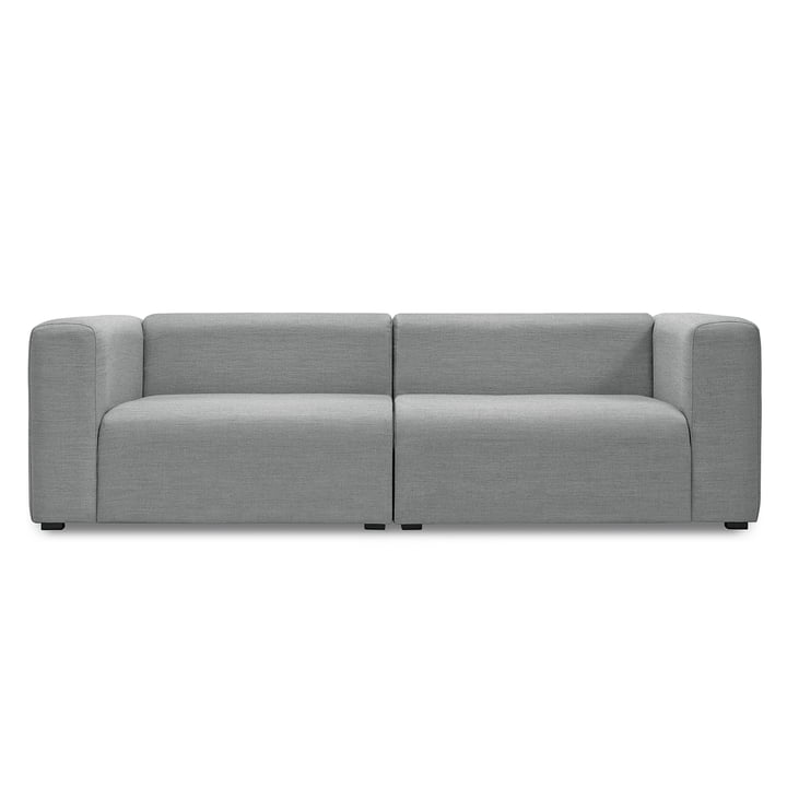Hay - Mags Sofa ohne Buttons, 2,5-Sitzer, Surface 120 hellgrau
