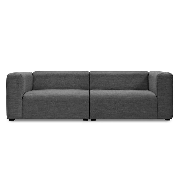 Mags Sofa 2,5-Sitzer, Kombination 1 von Hay in Dunkelgrau (Surface 190)